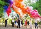 Цветной дым для свадьбы в Калининграде